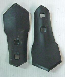 """S Tine Sweep 2 Hole 2-3/4"""" Wide 7/16"""" Holes 1/4"""" Thick Cultivator (2)"""