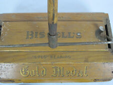 Antique Bissell's Cyco Ball-Bearing Carpet Sweeper Gold Medal  Vacuum