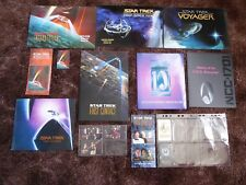 Large Star Trek Mercury Phone Cards Lot - 80 cards   Limited Edition Sets MINT