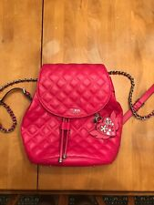 Guess pink backpack bag