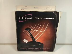 Vintage TV Antenna Retro Boxed Look Unused ANALOGUE AERIAL Not Digital SCUFFS