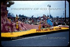 1957 TOURNAMENT OF ROSES PARADE FLOAT 35mm PHOTO SLIDE  Portland Adventure Fairy