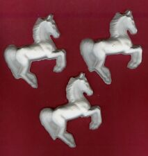 Mustang horse plaster of Paris painting project. Set of 6!