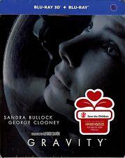 Gravity 3D 2-Disc Limited Edition SteelBook Blu-ray (Region Free Korea Import)