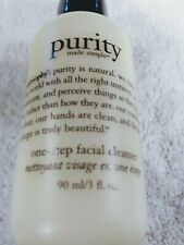 Philosophy Purity Made Simple One step Facial Cleanser 3 oz 3 ounces new sealed