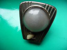 plafonnier métal et verre blanc pour voiture ancienne