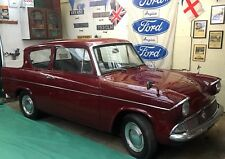 Early Ford Anglia 105E Deluxe - Low Mileage - Imperial Maroon - Classic Car
