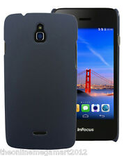 Premium Black Slim Hybrid Hard Back Case/Cover/Pouch for Infocus M2  M 2