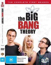 THE BIG BANG THEORY (COMPLETE SEASON 1 DVD SET - SEALED + FREE POST)