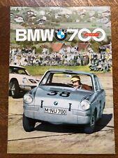 BMW 700 SPORT English Language UK Sales Brochure, 1962