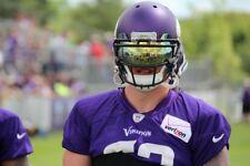 New Oakley Football GOLD Visor Shield Mirror Youth Adult Lacrosse Eye-Shields