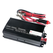 SOLAR POWER INVERTER 3000W PEAK 12V DC TO 230V AC MODIFIED WAVE CONVERTER CHARIS
