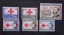 Belgium 1959 Red Cross set MNH