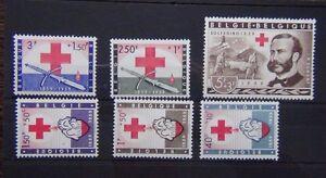 Belgium 1959 Red Cross set MNH