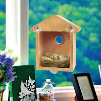 Novelty Bird House Feeder Bath Garden Hanging Nest Box Feeding Station Outdoor