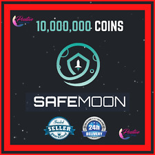 🌙10,000,000 SAFEMOON - 10 MILLION - CRYPTO MINING CONTRACT - Crypto Currency 🚀
