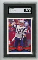 2012 Topps #440 Tom Brady SGC 8.5 Graded Football Card NM/MT GOAT Bucs