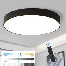 LED Deckenleuchte Ultraslim Deckenlampe Dimmbar mit Fernbedienung Wohnzimmer