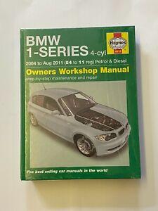 Haynes 4918 Manual for BMW 1 Series 4-cyl Petrol & Diesel 2004-2011