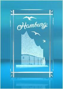 3D Glasquader I Hamburg I Elbphilharmonie   Souvenir   Erinnerung   Reise   Trip