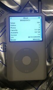 128GB Flash SSD (SD) Upgrade for 5th 6th 7th generation iPod Classic Video