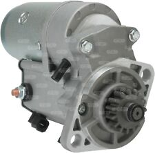 STARTER MOTOR Cummins TYPE A 2300 SWEEPER Vermeer TRENCHER 12 VOLT 15 TEETH