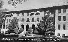 El Dorado Kansas Susan Allen Memorial Hospital Antique Postcard K17637