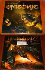 "UNISONIC Lot LIGHT OF DAWN 2x LP & FOR THE KINGDOM 12"" VINYL EP LIMITED 2014 New"