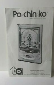 Nishijin Pachinko machine operating and instruction manual model # 4200