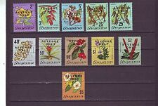 Guyanese Flowers Postal Stamps