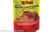 """Imported Fire Ant Control Granules 5 Lbs Broad Spectrum Insecticide """"Lot of 6"""""""