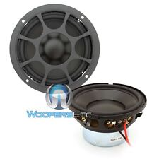 "MOREL HYBRID OVATION SW 4 CAR AUDIO 4"" 100W RMS 4 OHM MIDRANGE SPEAKERS PAIR NEW"