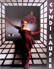 CYNDI LAUPER * TRUE COLORS TOUR PROGRAMME * 1986/87 * HTF!