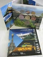 TSCHECHIEN 2013 KMS COIN SET ST BU - CESKA REPUBLIKA - TSCHECHISCHE REPUBLIK -