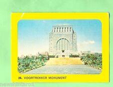 SANITARIUM 1965 AUSTRALIAN AFRICAN SAFARI  CARD #24  VOORTREKKER  MONUMENT