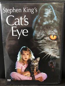 Cats Eye (DVD, 2002, Widescreen)-Horror-Stephen King