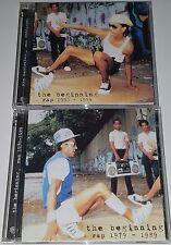 """WARNER PROMO 4 CD HIPHOP BEGINNING 1979-94 Demo master acetate Rap dj 12"""" lp mix"""