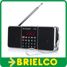 RADIO DIGITAL ESTEREO PORTATIL ALTAVOCES FM MP3 USB TF ALI 5V USB BATERIA BD9378