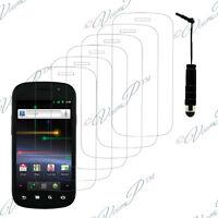 6x Films protection protecteur écran mini stylet  Samsung Galaxy Nexus I9020