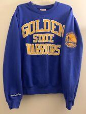 Golden State Warriors Mitchell & Ness NBA Curry Durant  - Blue Size XL Rare