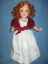 VINTAGE HORSMAN COMPOSITION BRIGHT STAR DOLL 18IN RED HAIR PRETTY LQQK!!