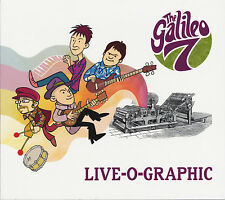 THE GALILEO 7 Live-O-Graphic CD NEW Prisoners Embrooks Solarflares garage psych