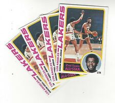 1978-79 TOPPS BASKETBALL  KAREEM ABDUL JABBAR #110 (4 COPIES) OUT OF VENDING