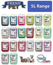 Fresh Pet Kennel Disinfectant / Cattery Cleaner and Deodoriser - 5L Range
