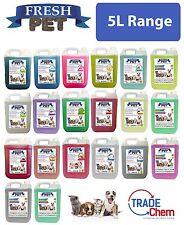 Fresh Pet Kennel Disinfectant / Cattery Cleaner and Deodoriser - 5L Range