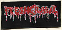 Fleshcrawl - Logo Patch Not Specification #121208