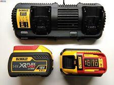 Dewalt dcb132x2 flexvolt 54v 9,0ah Packs dcb547 doppel-ladegerät dcb132