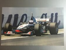 1998 David Coulthard's Mercedes Benz Racing Formula 1 Print Picture Poster RARE!