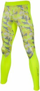 Sub Sports Cold Thermal Junior Long Running Tights - Yellow