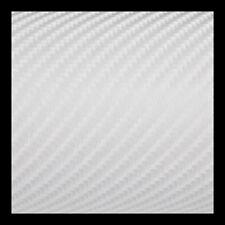 40 x 152 cm Film 4D Blanc autocollant vinyle professionnel covering sticker